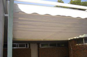 Toldo de Aluminio plano corredero en Rocafort